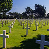 Normandy American Cemetry in Colleville-sur-Mer