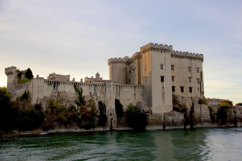 Castle along the Rhone River
