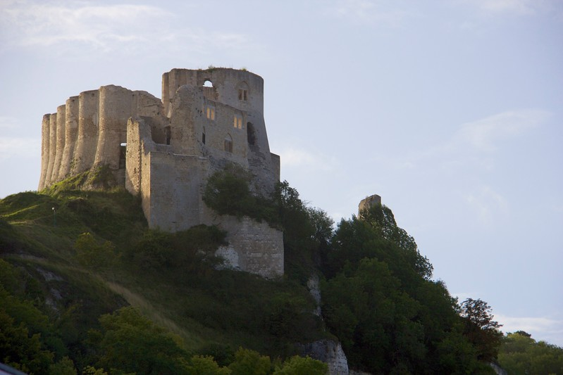 Castle along the Rhone River