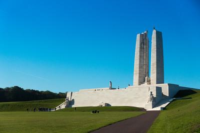 Canadian Vimy Ridge Memorial, Arras, France