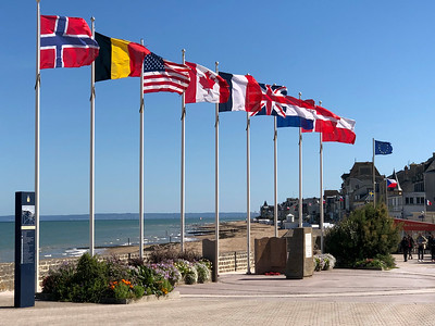 Canadian Normandy Beaches, France