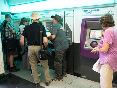 getting metro passes