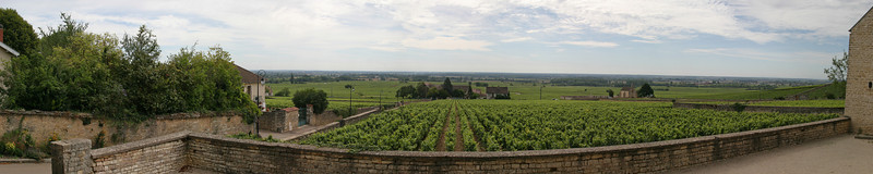 View from Volnay