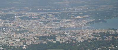 Geneva from Salève.