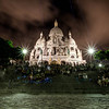 Le Sacre Coeur by night - Paris