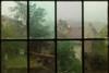 Rainy view, Chateauneuf en Auxios, France