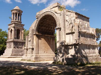 Roman ruins of Glanum