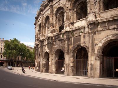 Roman arena, Nîmes