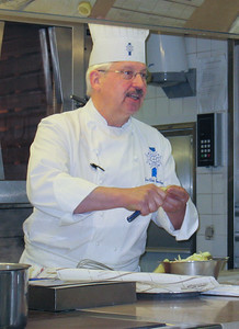 Chef-Instructor Jean-Claude Boucheret, le Cordon Bleu