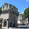 Avignon City Wall near train station
