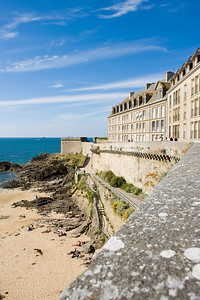 Saint Malo in Normandy