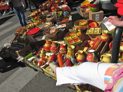 Saturday Market in front of the Palais de Justice