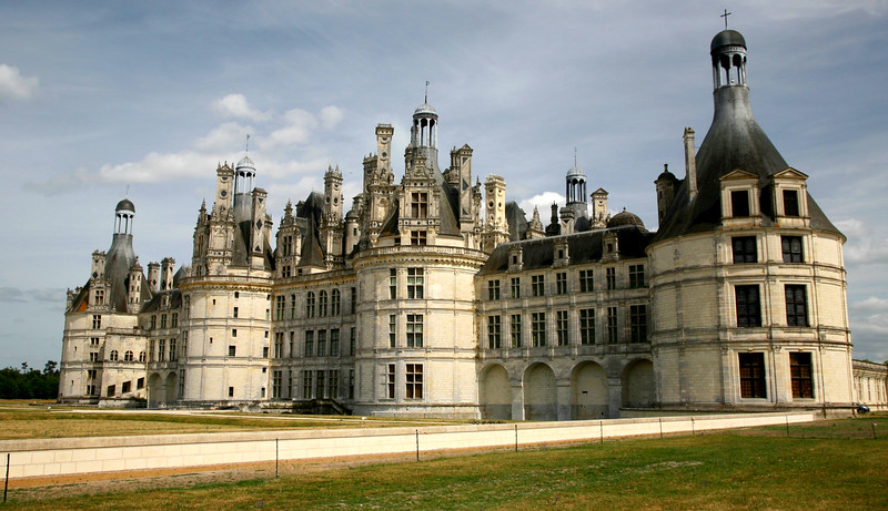 The Loire Chateaus were designated a World Heritage Site in 1999.