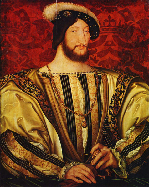 King Francis I (1494-1547) built or inspired most of the Loire chateaus.