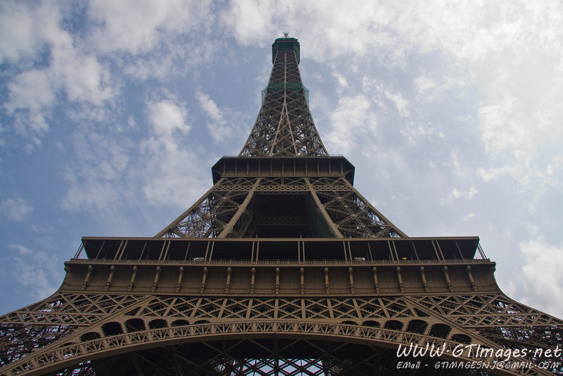 Paris - The Eiffel tower. A truely manificent struture in it's intricate beauty. I was overwhelmed.