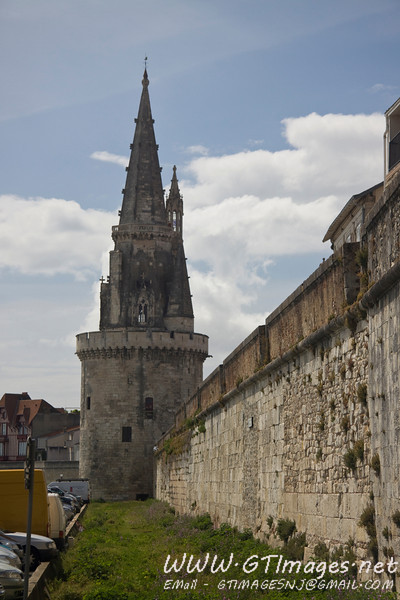 La Rochelle - fortification walls.