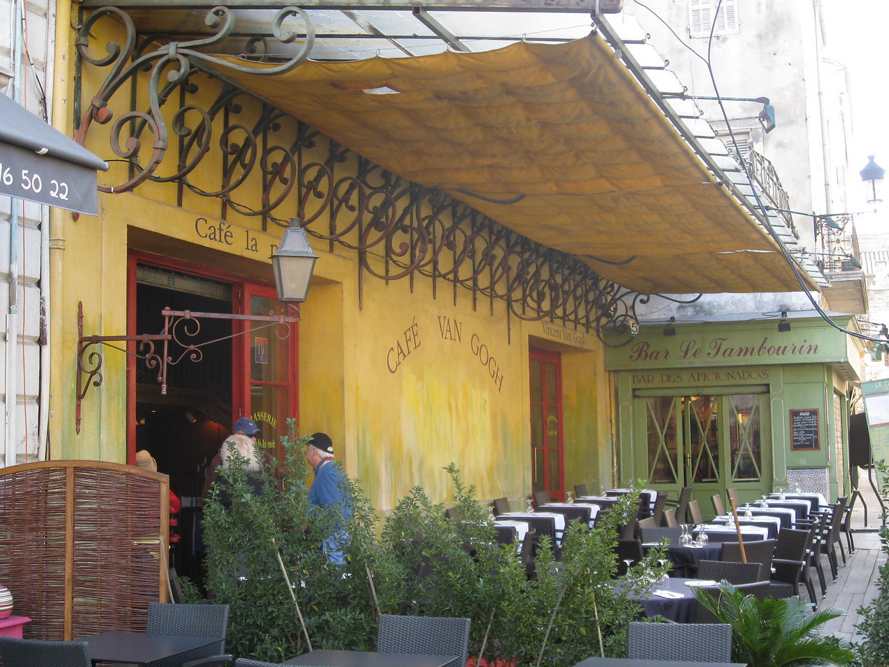 THE ACTUAL RESTAURANT OF WHICH VAN GOGH PAINTED