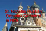 St. Nicholas Russian Orthodox Cathedral in NIce
