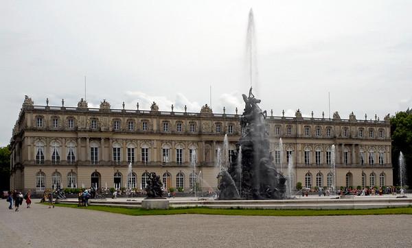 Herrenchiemsee palace, Bavaria, 30 June 2006 2