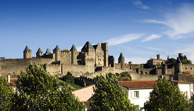 Beautiful Carcassonne,  http://en.wikipedia.org/wiki/Carcassonne