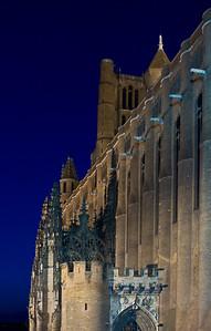 Cathédrale Sainte-Cécile d'Albi / Saint - Cecile katedraal Albi linnas. http://en.wikipedia.org/wiki/Albi_Cathedral