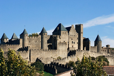 Beautiful Carcassonne  http://en.wikipedia.org/wiki/Carcassonne
