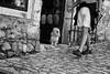 Shop keeper, Les Baux de Provence, France