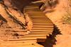 Ochre stairs, Rousillon, France
