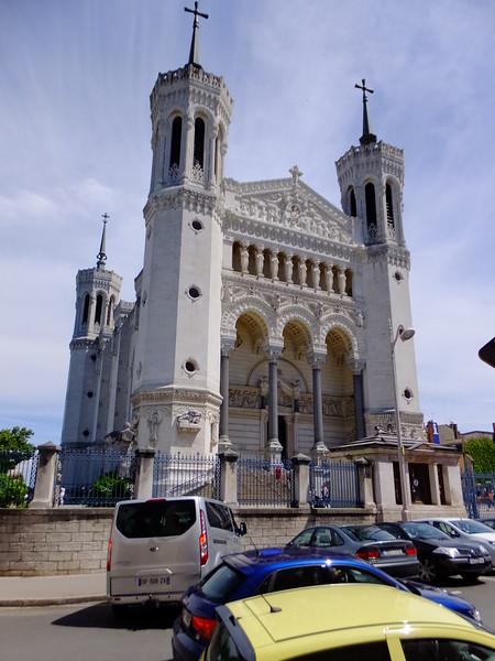 Basilique Notre-Dame de Fourviere - a World Hertige site