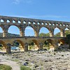 The Pont du Gard is an ancient Roman aqueduct that crosses the Gardon River in southern France. Opened in 60 A.D.