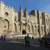Palais des Papes, Avignon. The Avignon Papacy was the period from 1309 to 1377 during which seven successive popes resided in Avignon (then in the Kingdom of Arles, part of the Holy Roman Empire, now in today's France) rather than in Rome. The situation arose from the conflict between the Papacy and the French crown.