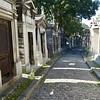 Street in Pere Lachaise Cemetery