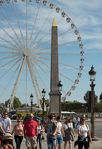 One of two obelisks stolen from Egypt - the other is in Britain.