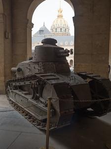 Renault FT Tank at the Musée de l'Armée.