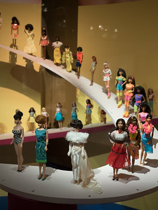 Barbies from around the world.