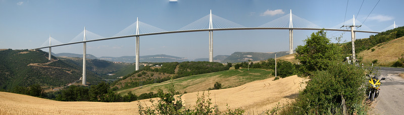 Millau viaduct in France