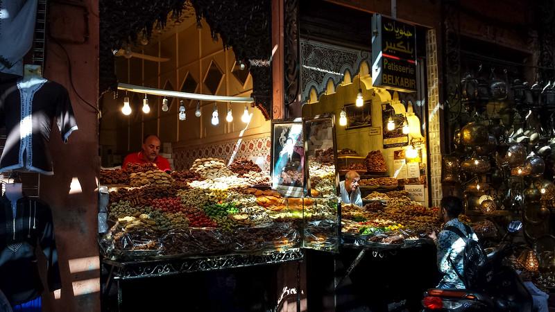 Night market.