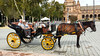 So we decided to ride a carriage from Plaza de España over to nearby Real Alcázar de Sevilla.