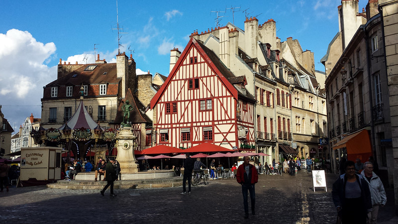Arrived at the end of our Northern Burgundy bike trip in Dijon and we loved it so much we stayed two extra days to explore and relax in a nice comfy hotel.