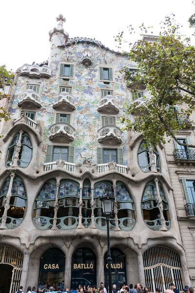 The home of Gaudi, at least for a bit.  His art is all over Barcelona in the form of architecture.
