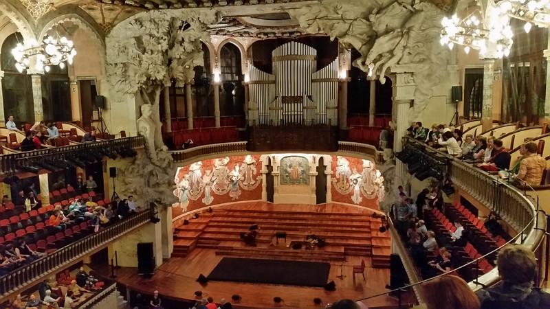Classical Guitar at Palau de la Música Catalana.