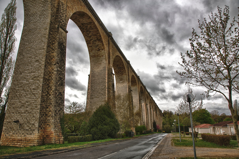 Viaduct in Le Blanc, France