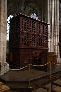 Choir organ, St.-Denis
