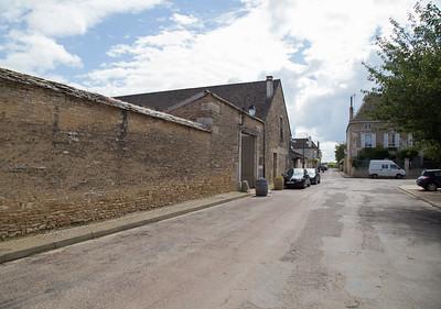 Pommard, outside Domaine Lejeune