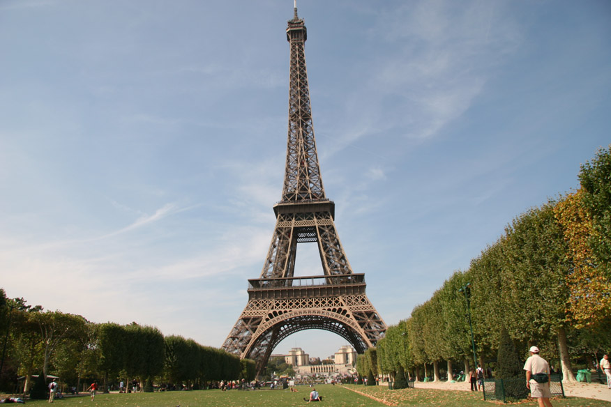 Eiffel Tower (surprise!)