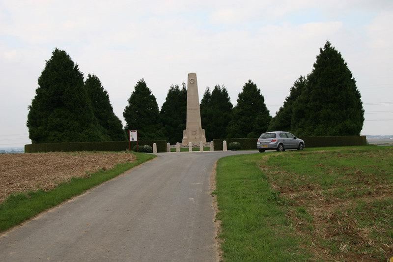 The New Zealand Divisional Memorial at Longueval commemorating our soldiers who died during the Battle of the Somme (WW1).  I think I should have parked my rental car somewhere else!