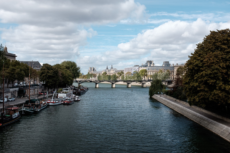 Taking in the Seine | Paris, France | September 2018