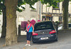 The Skoda delivers us safe and sound to Parthenay.