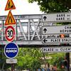 "City street sign, Paris, France. SEE ALSO:   <a href=""http://www.blurb.com/b/893039-paris-international-city"">http://www.blurb.com/b/893039-paris-international-city</a>"