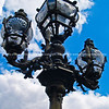 "Ornate old fashioned street lamps, close-up, Paris. SEE ALSO:   <a href=""http://www.blurb.com/b/893039-paris-international-city"">http://www.blurb.com/b/893039-paris-international-city</a>"